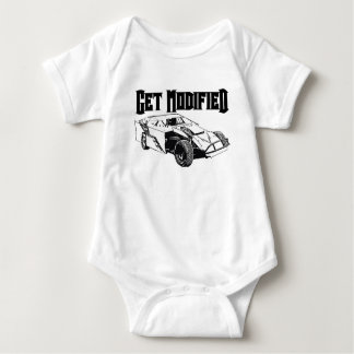 Get Modified - Dirt Modified Racing Baby Bodysuit