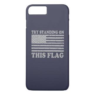 Get off my flag iPhone 7 plus case