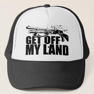 Get Off My Land Trucker Hat