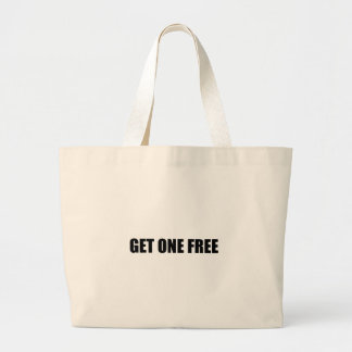 Get One Free Twin Large Tote Bag