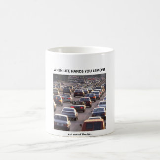 get-out-of-dodge classic white coffee mug