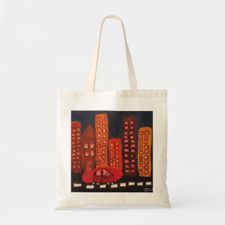 """Get out of Town"" small tote"