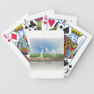 Get Outside Bicycle Playing Cards