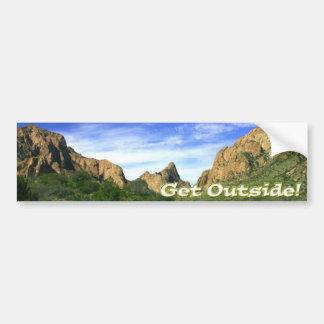 Get Outside Bumper Sticker