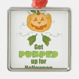 Get Pumped Metal Ornament