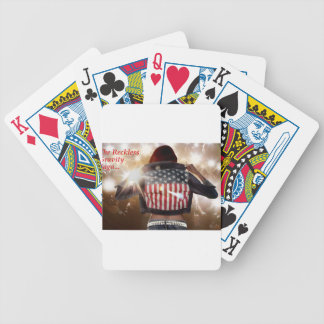 Get Reckless Bicycle Playing Cards