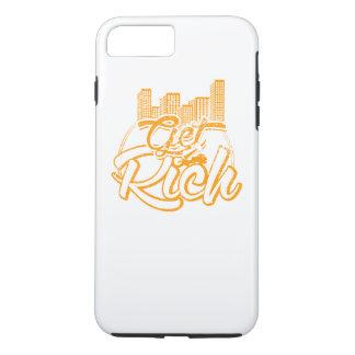 Get Rich Motivation Iphone case