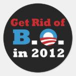 Get Rid of B.O. Stickers