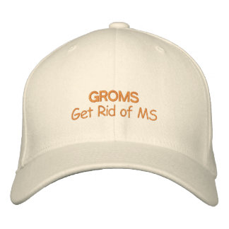 Get Rid of Multiple Sclerosis Embroidered Hat