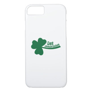 Get Shamrocked St. Patrick's Day Funny iPhone 8/7 Case