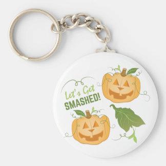 Get Smashed Basic Round Button Keychain