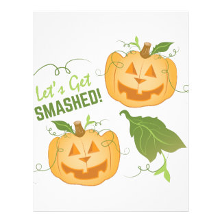 Get Smashed Custom Letterhead