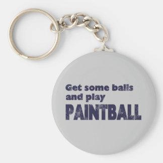 Get Some Balls Keychain