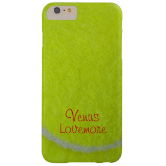 Get Sporty_Tennis_Fuzzy Ball Design_personalized Barely There iPhone 6 Plus Case