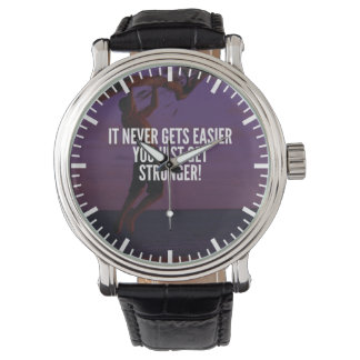 Get Stronger - Workout Motivational Wrist Watches