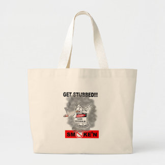 GET STUBBED_1 LARGE TOTE BAG