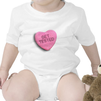 GET TESTED CANDY BABY BODYSUIT