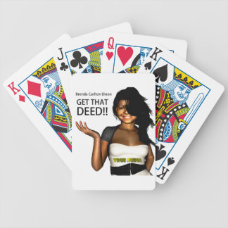 GET THAT DEED BICYCLE PLAYING CARDS