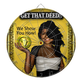 GET THAT DEED!!! DARTBOARD