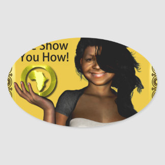 GET THAT DEED!!! OVAL STICKER