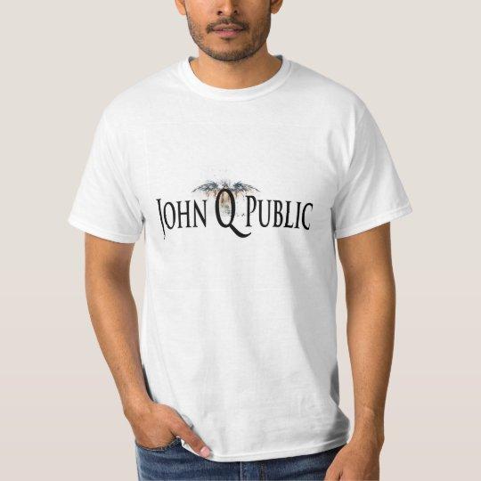 Get the 2014 John Q Public Crest Logo T-Shirt! T-Shirt