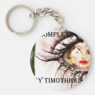 """Get the Cover of """"Incomplete"""" on Everything Basic Round Button Keychain"""