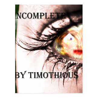 """Get the Cover of """"Incomplete"""" on Everything Postcard"""