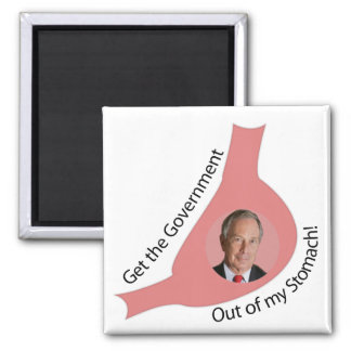Get the Government Out of My Stomach! Magnet