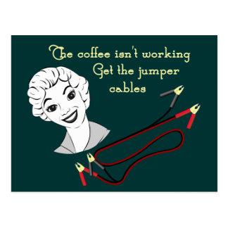 Get the Jumper Cables Postcard