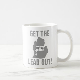 Get the Lead Out! - Michigan Water Coffee Mug