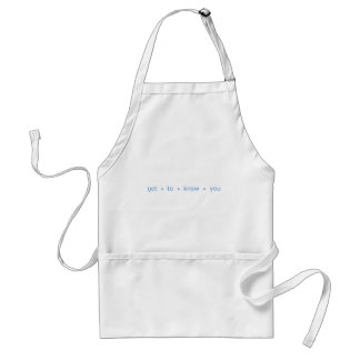 Get to know You Standard Apron