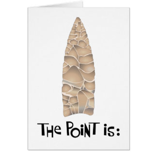 Get to the Point Birthday Card