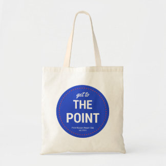 Get To The Point (Circle w/dots) Easy Tote