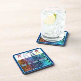 Get Up and GoGo Beverage Coaster