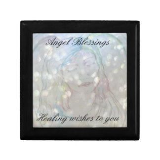 Get Well Angel Blessings Trinket Boxes