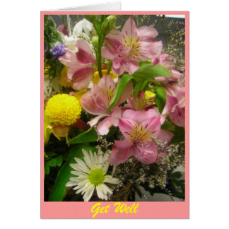 Get Well Bouquet Card