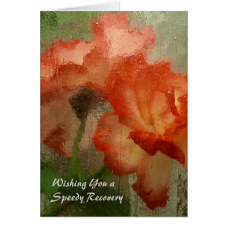 Get Well Card with Roses