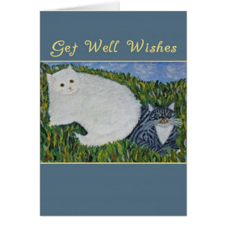 Get Well Cats Card