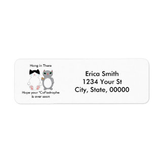 Get Well Encouragement Kitty Cats Personalize