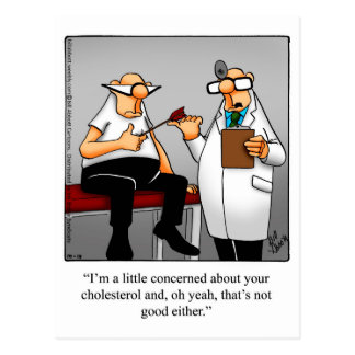 Get Well Humor Postcard