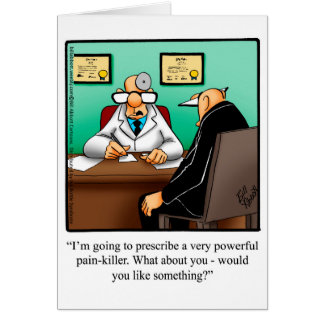 Get Well Humour Greeting Card