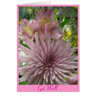 Get Well pink *customize Card