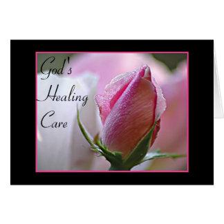 Get Well Rose Card