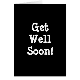 Get Well Soon! Card