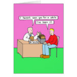 Get Well Soon Humour in Doctor's Office Greeting Card