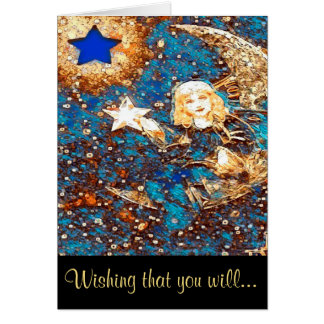 Get Well Soon - Make a Wish Card