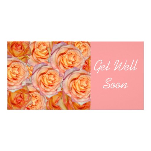 Get Well Soon Custom Photo Card