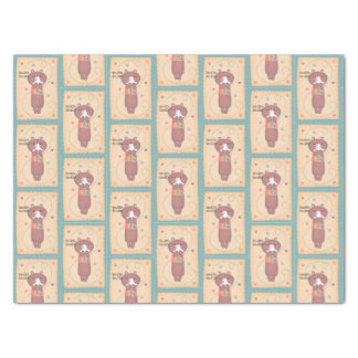 Get Well Soon Sniffle Sniffle Bear Tissue Paper