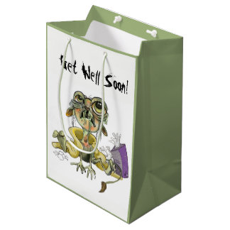 Get Well Soon! Snot Goblin Survival Kit Medium Gift Bag