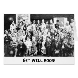 Get Well Soon - We Haven't Been the Same Card